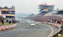 Porsche 917 Stommolen leads at the start Le Mans 1969